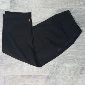 Lucy Cuffed Ankle Leggings Black Size Large